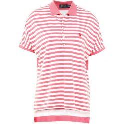 Bluzki damskie: Polo Ralph Lauren DRAPEY MESH Koszulka polo sun red/deckwash