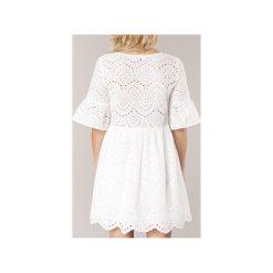 Sukienki krótkie Betty London  INNATU. Białe sukienki mini marki Betty London, l, z krótkim rękawem. Za 199,00 zł.