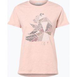 Marie Lund - T-shirt damski, różowy. Niebieskie t-shirty damskie marki Marie Lund, l, z haftami. Za 59,95 zł.