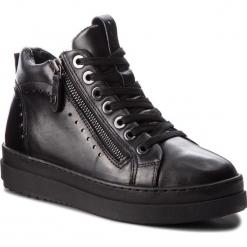 Sneakersy TAMARIS - 1-25218-21 Blk Lea. Comb. 077. Czarne sneakersy damskie Tamaris, ze skóry ekologicznej. Za 329,90 zł.