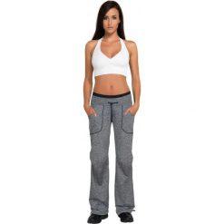 Gwinner Spodnie LOOSE SPORT PANTS CLIMAline melanż M. Szare spodnie sportowe damskie marki Gwinner, m, melanż. Za 106,42 zł.