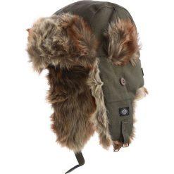 Dickies Trout Creek Czapka oliwkowy. Szare czapki zimowe damskie marki Dickies, na zimę, z dzianiny. Za 121,90 zł.