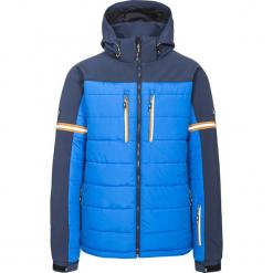 """Kurtka narciarska """"Dursey"""" w kolorze niebieskim. Niebieskie kurtki męskie bomber Trespass Snow Men, m, z materiału, narciarskie. W wyprzedaży za 260,95 zł."""