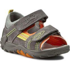 Sandały męskie skórzane: Sandały SUPERFIT – 6-00030-07 Stone Multi
