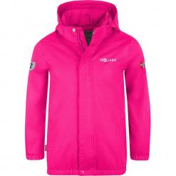 """Kurtka przeciwdeszczowa """"Odda"""" w kolorze różowym. Czerwone kurtki dziewczęce przeciwdeszczowe marki Reserved, z kapturem. W wyprzedaży za 112,95 zł."""