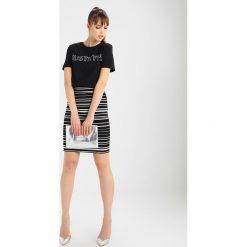 T-shirty damskie: Hype Tshirt z nadrukiem black/white