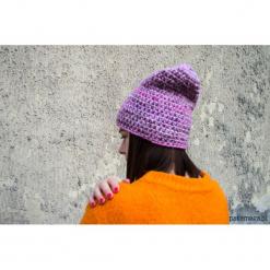 Czapka LAWENDOWE POLA. Fioletowe czapki zimowe damskie Pakamera. Za 66,00 zł.