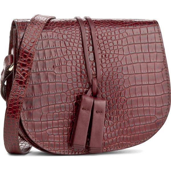 8709ec2f48f35 Torebka LASOCKI - BRT-001 Bordowy - Czerwone torebki klasyczne ...