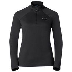 Odlo Bluza damska Midlayer 1/2 zip Snowbird czarna r. S (222001). Czarne bluzy sportowe damskie Odlo, s. Za 90,90 zł.