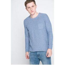 Bench - Sweter. Szare swetry klasyczne męskie marki Bench, l, z bawełny, z okrągłym kołnierzem. W wyprzedaży za 79,90 zł.