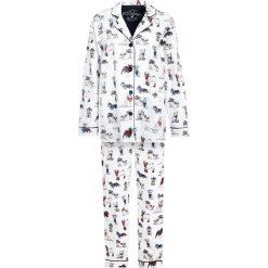 Piżamy damskie: PJ Salvage COOL COWBOY DOG  Piżama ivory