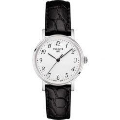 PROMOCJA ZEGAREK TISSOT EVERYTIME LADY T109.210.16.032.00. Białe zegarki damskie TISSOT, ze stali. W wyprzedaży za 792,00 zł.