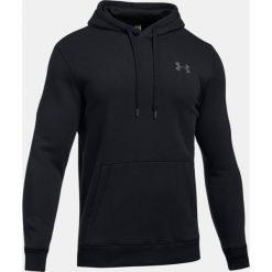 Bejsbolówki męskie: Under Armour Bluza męska Rival Fleece Fitted Hoodie czarna r. XXL (1302292-001)