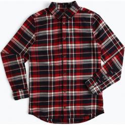 Review - Koszula chłopięca, niebieski. Niebieskie koszule chłopięce Review, w kratkę, z bawełny. Za 119,95 zł.