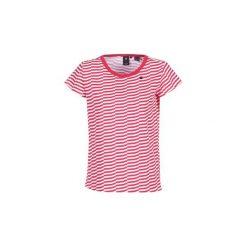 T-shirty z krótkim rękawem G-Star Raw  RC LOAV STRIPE STRAIGHT R T WMN S/S. Czerwone t-shirty damskie marki G-Star RAW, l, z bawełny. Za 143,20 zł.