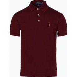 Polo Ralph Lauren - Męska koszulka polo, czerwony. Czerwone koszulki polo Polo Ralph Lauren, m, z haftami, z dżerseju. Za 499,95 zł.
