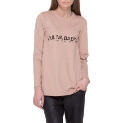 Bluzki damskie: Bluzka w kolorze beżowym