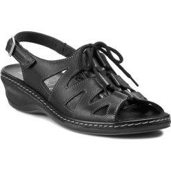 Rzymianki damskie: Sandały COMFORTABEL – 710521 Schwarz 1