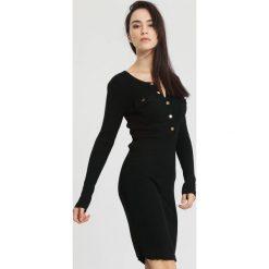 Czarna Sukienka Right Music. Czarne sukienki dzianinowe other, na jesień, l. Za 99,99 zł.