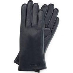 Rękawiczki damskie 39-6L-201-GC. Niebieskie rękawiczki damskie Wittchen, z polaru. Za 99,00 zł.