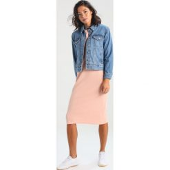 Bomberki damskie: Miss Selfridge Petite STUDDED  Kurtka jeansowa blue
