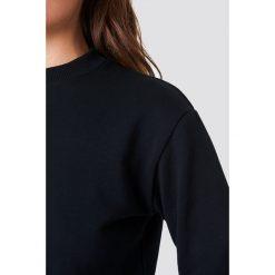 NA-KD Basic Bluza basic - Black. Różowe bluzy damskie marki NA-KD Basic, prążkowane. Za 100,95 zł.