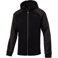 Puma Bluza Ub Legend Fz Hoody Cotton Black S. Czarne bluzy męskie rozpinane marki Puma, m. W wyprzedaży za 209,00 zł.