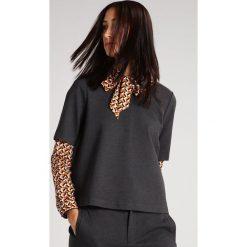 T-shirty damskie: And Less CLEON Tshirt basic grey melange