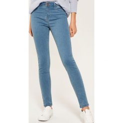Jeansy skinny - Niebieski. Niebieskie rurki damskie House, z jeansu. Za 59,99 zł.