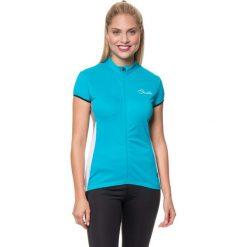 """T-shirty damskie: Koszulka kolarska """"Decorum"""" w kolorze błękitnym"""