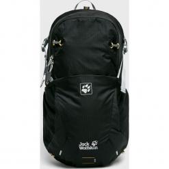 Jack Wolfskin - Plecak. Czarne plecaki męskie marki Jack Wolfskin, w paski, z materiału. Za 429,90 zł.