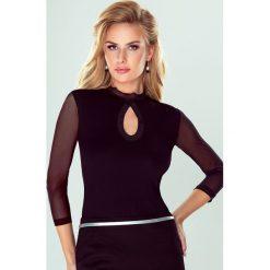 Bluzki asymetryczne: Elegancka damska bluzka Tatiana