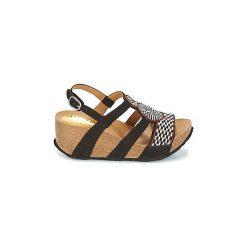 Sandały Desigual  ODISEA-AFRICA-BN. Czarne sandały damskie marki Desigual. Za 244,30 zł.