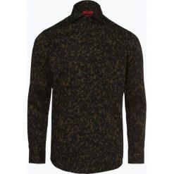 HUGO - Koszula męska – Kason, zielony. Niebieskie koszule męskie marki HUGO, m, z bawełny. Za 229,95 zł.