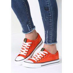Pomarańczowe Trampki Don't Stop. Czerwone trampki i tenisówki damskie marki vices. Za 49,99 zł.