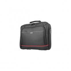 "Torba na laptopa Natec Oryx black 15.6"". Czarne torby na laptopa marki Natec, w paski, z nylonu. Za 61,99 zł."