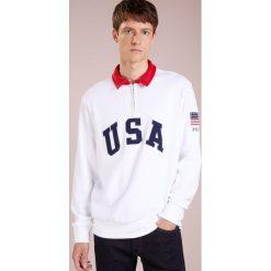 Polo Ralph Lauren MAGIC Bluza white. Białe bluzy męskie Polo Ralph Lauren, l, z bawełny. Za 629,00 zł.