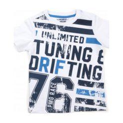 Primigi T-Shirt Chłopięcy 110 Biały. Białe t-shirty chłopięce marki Primigi. W wyprzedaży za 59,00 zł.