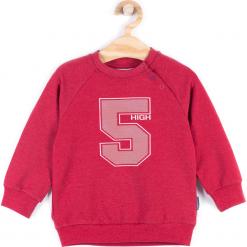 Bluza. Czerwone bluzy chłopięce rozpinane REBELS, z bawełny. Za 34,90 zł.