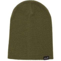 Czapka JACK WOLFSKIN - Rib Hat 1903891 Woodland Green. Zielone czapki męskie Jack Wolfskin, z materiału. Za 64,99 zł.