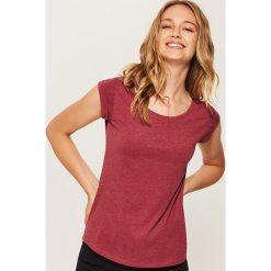 T-shirt basic - Bordowy. Czerwone t-shirty męskie marki House, l. Za 17,99 zł.