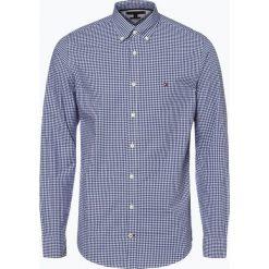 Tommy Hilfiger - Koszula męska, niebieski. Czarne koszule męskie w kratę marki TOM TAILOR DENIM, l, z bawełny, button down, z długim rękawem. Za 349,95 zł.