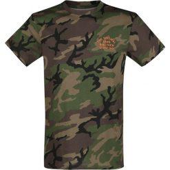 Vans Spring Training T-Shirt kamuflaż. Szare t-shirty męskie z nadrukiem Vans, l, z okrągłym kołnierzem. Za 99,90 zł.