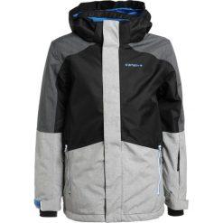 Icepeak HALTON  Kurtka narciarska black. Czarne kurtki chłopięce Icepeak, z materiału, sportowe. W wyprzedaży za 356,15 zł.