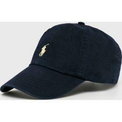 Polo Ralph Lauren - Czapka. Szare czapki z daszkiem męskie marki Polo Ralph Lauren, z bawełny. Za 169,90 zł.