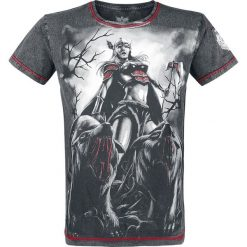 Black Premium by EMP Rebel Soul T-Shirt ciemnoszary. Czarne t-shirty męskie z nadrukiem marki Black Premium by EMP. Za 62,90 zł.