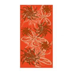 Chusty damskie: HAD Chusta damska Fleece Coral pomarańczowa (HAD-5896-433)