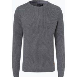 Nils Sundström - Sweter męski, szary. Szare swetry klasyczne męskie Nils Sundström, m, z bawełny. Za 169,95 zł.