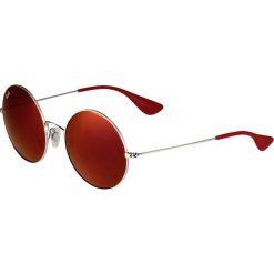 RayBan Okulary przeciwsłoneczne silver. Szare okulary przeciwsłoneczne damskie lenonki marki Ray-Ban. Za 579,00 zł.
