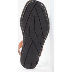 Solillas RUSTIC Sandały tan. Brązowe sandały damskie Solillas, z materiału, z otwartym noskiem. W wyprzedaży za 237,30 zł.